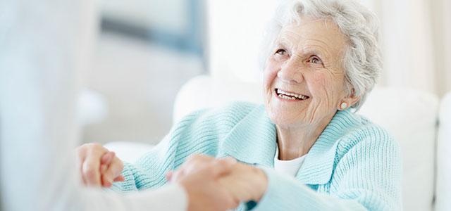 Für ältere Menschen da sein
